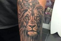 Tattoo / Lion tattoo