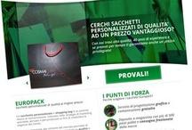 Portfolio - Europack / Our work for Europack http://www.europack-sacchetti.it/