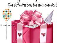 Felicidades por tu cumpleaños