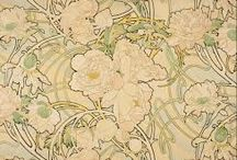 Moodboard - Art Nouveau / Sources of inspiration for Etoile collection of sofas and beds