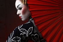 Geisha Asian Beauty Couture Fashion
