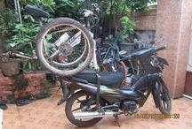 Membuat Bracket Carrier Sepeda di Motor