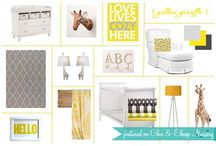 Baby/kid spaces & ideas / by Ginny Fountain Caminari