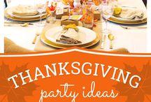 Ação de Graças / Dia de agradecer pelo ano que se teve e pelo que está por vir ♡ Gratidão
