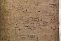 Древний Египет (папирусы, муралы, барельефы)