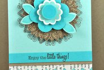 Cards - Papertrey Ink / cards made using Papertrey Ink stamps