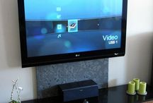 ways to hide t.v. cords
