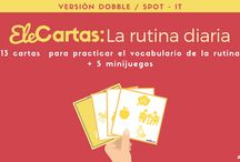 Ele Cartas: Las rutinas [Dobble – spot it]