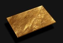 24 Carat Fine Gold Plated, Glass Laminated Slate