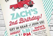 Vintage Truck & Car Party Ideas