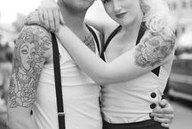 Pinup style & Tattoos / by Janette Haro