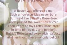 Flowers in Poetry / A collection of poems that reference Flowers, set on top of some stunning Bloom Silk Flower Arrangements!