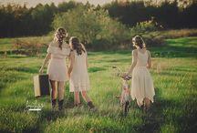 Bohemian Styled Photo Shoot / Styled Photography, Sisters, Boho, Bohemian, Hippy, Romantic