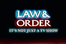 ALL THINGS LAW AND ORDER / My all time favorite TV series and spin offs. They even have a Law and Order UK London series! / by lucinda gray