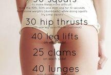 Exercises! No Pain, No Gain!!