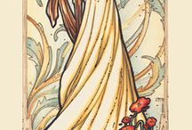 arts in style of the Mucha ( art nouveau)