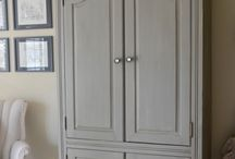 Painting armoire