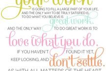 Inspiring Words and Quotes / by Stampin' Up!
