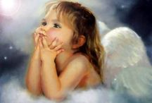 Heaven and Beyond / Angels walk beside us across the stepping stones of life. / by Cheryl Paul