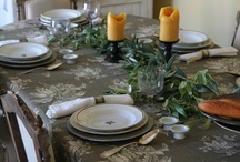 DINING (TABLE SCAPES) / by Wiline Roberts