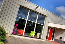 Showroom / Hier krijgt u een indruk van ons bedrijf en personeel.