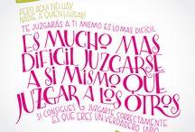 Letras dibujadas / Experimentación tipográfica