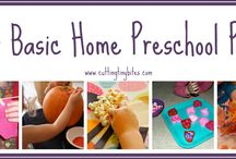 Homeschooling / Preschool ideas