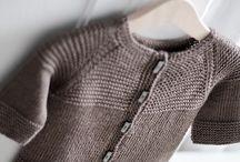 Knit baby boy