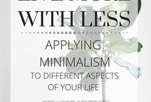 Minimalism less is more