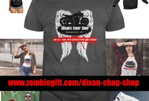 Walking Dead T-shirts / Here are some of the coolest The Walking Dead t-shirts and shirts inspired by the The Walking Dead.