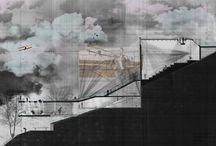 Disegno di architettura / #architecture #drawing #sketches