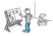 professions / Cartoons, afbeeldingen van professions, beroepen en occupations.