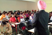 """Crude Oil and its impact on Indian Economy / Dr. HS Sidhu gave a presentation on """"Crude oil and it's impact on INDIAN ECONOMY"""". Around 90 students from management department actively participated in the presentation."""