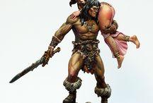 Conan & barabrian