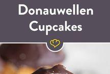 Donauwellen cupcake