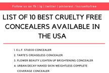 Cruelty free makeup products / This board is about makeup, diary, fashion, lifestyle, food and other products which are absolutely animal cruelty free. Lets take a pledge to stop animal cruelty and buy only cruelty free products.