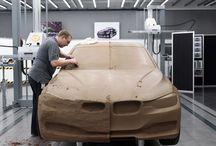 Car clay modelling