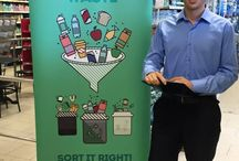 Supermarket Visits / Check out the Don't Waste Waste Campaign at various supermarkets across Malta