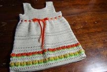 3 modelli di vestitino per bambina all'uncinetto (foto e video-tutorial) / vestitini per bambina all'uncinetto