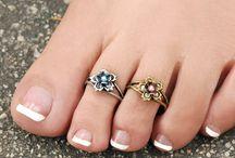anelli per piedi