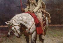 ARTWORK - INDIAN WAR