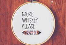 Whiskey. baby. Whiskey.