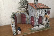 #miniatures houses with feeling and view