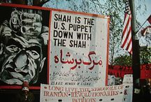 Iran - Islamic Revolution / Islamic Revolution that took place in 1979 in Iran.  / by Hayley Thorp