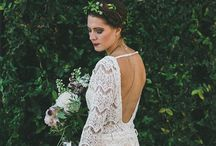 Perfect wedding dress / Wedding dress for folk, rustic, vintage, industrial and romantic bride.
