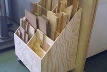skład drewna skrzynia