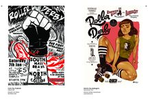Roller Derby + Comics = love / Roller Derby in comics (and in other art)