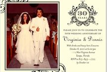 30th wedding anniversary party! / by Rebekah Bryant