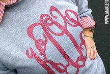 For the Love of Monograms!