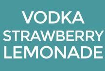 Vodka strawberries